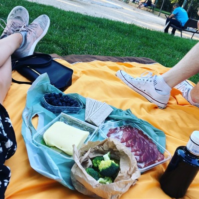 The HAPPIEST picnic
