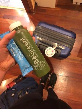 Green juice & collagen
